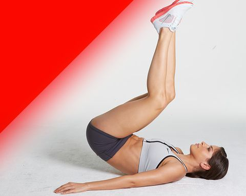 These 5 Moves Will Make You Look Flat-Bellied from Every Angle