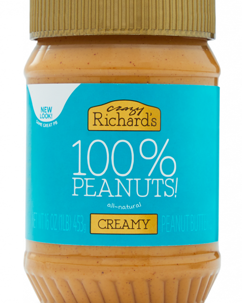 crazy richard's 100 peanuts all natural peanut butter