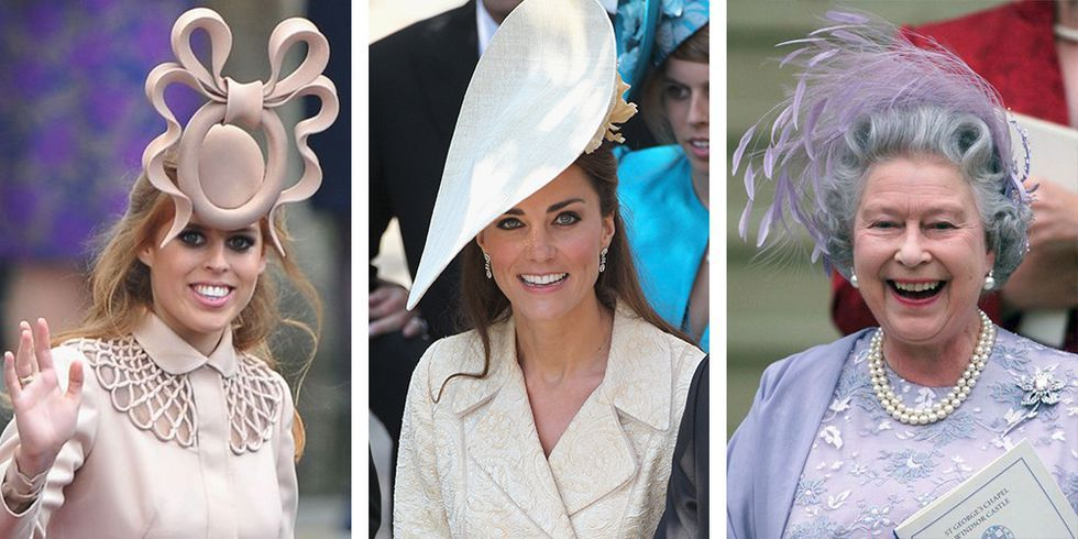The Craziest Royal Wedding Hats of All Time 5c88ad0f478