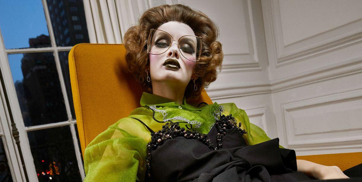 Carine Becomes Crazy Grandma For Cr Fashion Book Issue 12