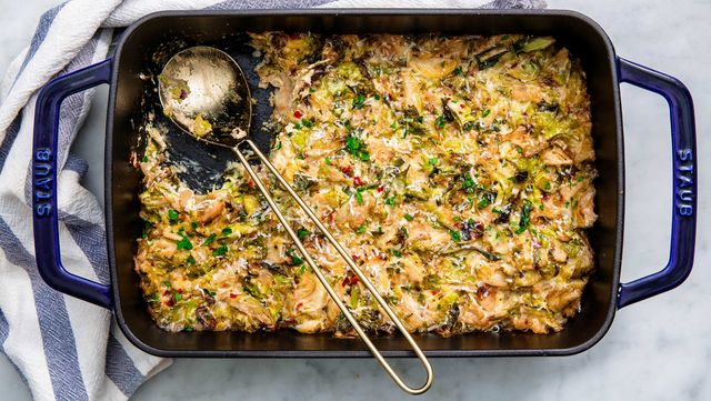 Food, Dish, Cuisine, Ingredient, Strata, Produce, Recipe, Cookware and bakeware, Comfort food, Stuffing,