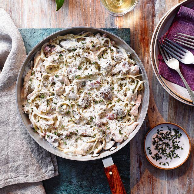 easy pasta recipes creamy chicken linguine