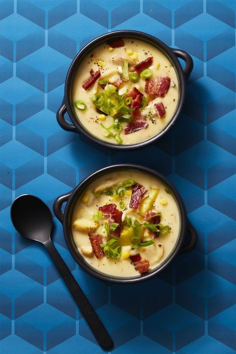 potato-recipe - creamy corn chowder