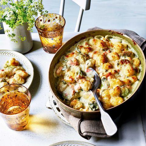 best gnocchi recipes creamy salmon gnocchi gratin