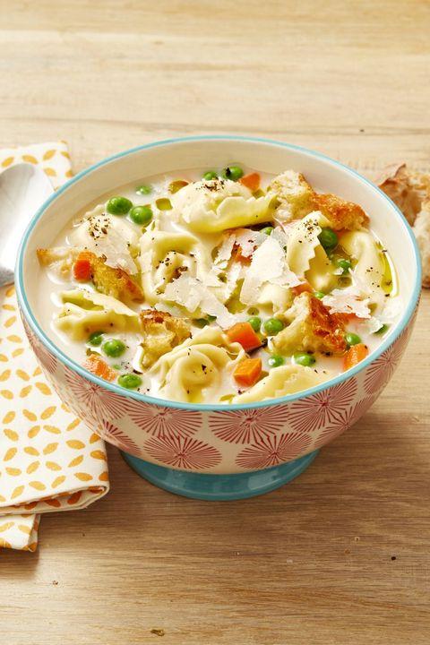creamy tortellini soup recipe