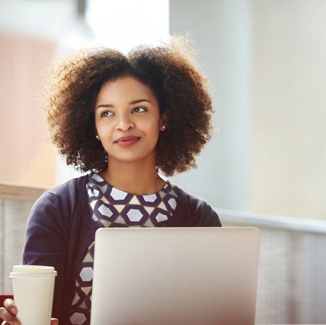 creative businesswoman discussing plans