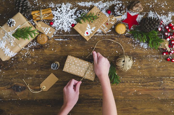 Have an eco-friendly Christmas – use recyclable wrapping paper!