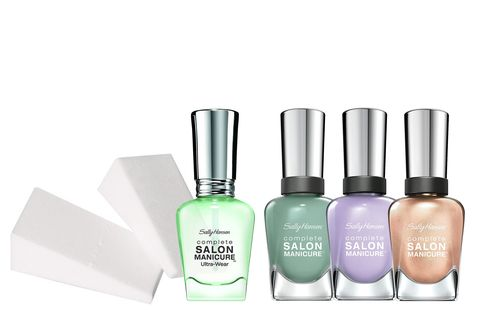 Nail polish, Nail care, Cosmetics, Product, Green, Beauty, Nail, Solution, Glass bottle, Manicure,