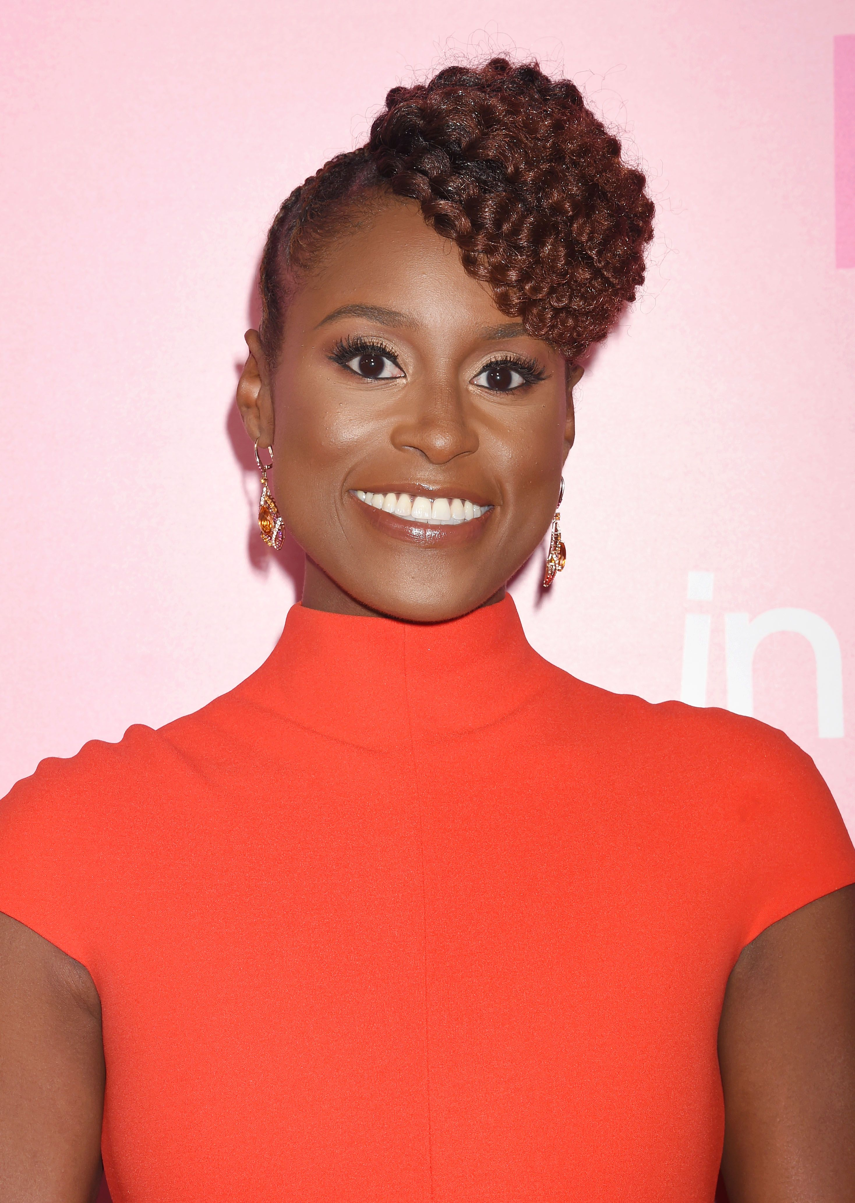 Issa Rae coiffures protectrices