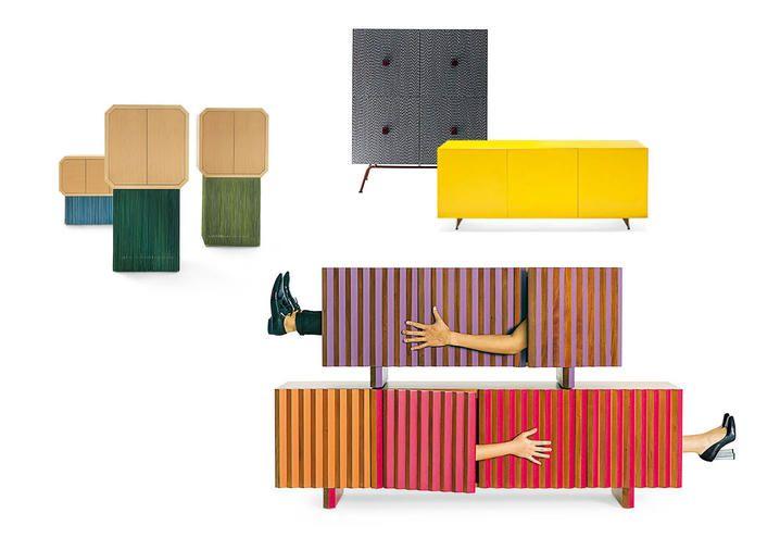 Credenza Moderna Colorata : Credenza moderna contenere con stile consigli complementi
