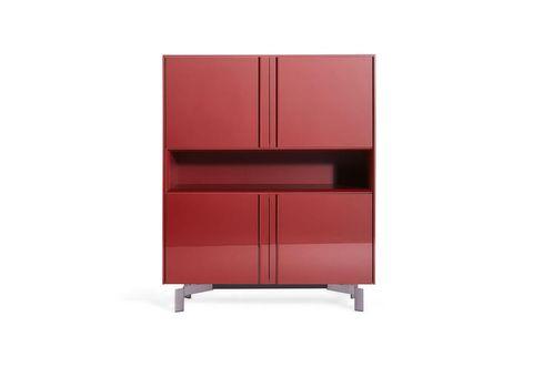 Credenza Moderna Rossa : 5 credenze e madie moderne per arredare cucina soggiorno