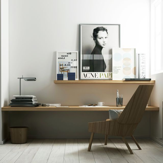 Home office designed by Katty Schiebeck