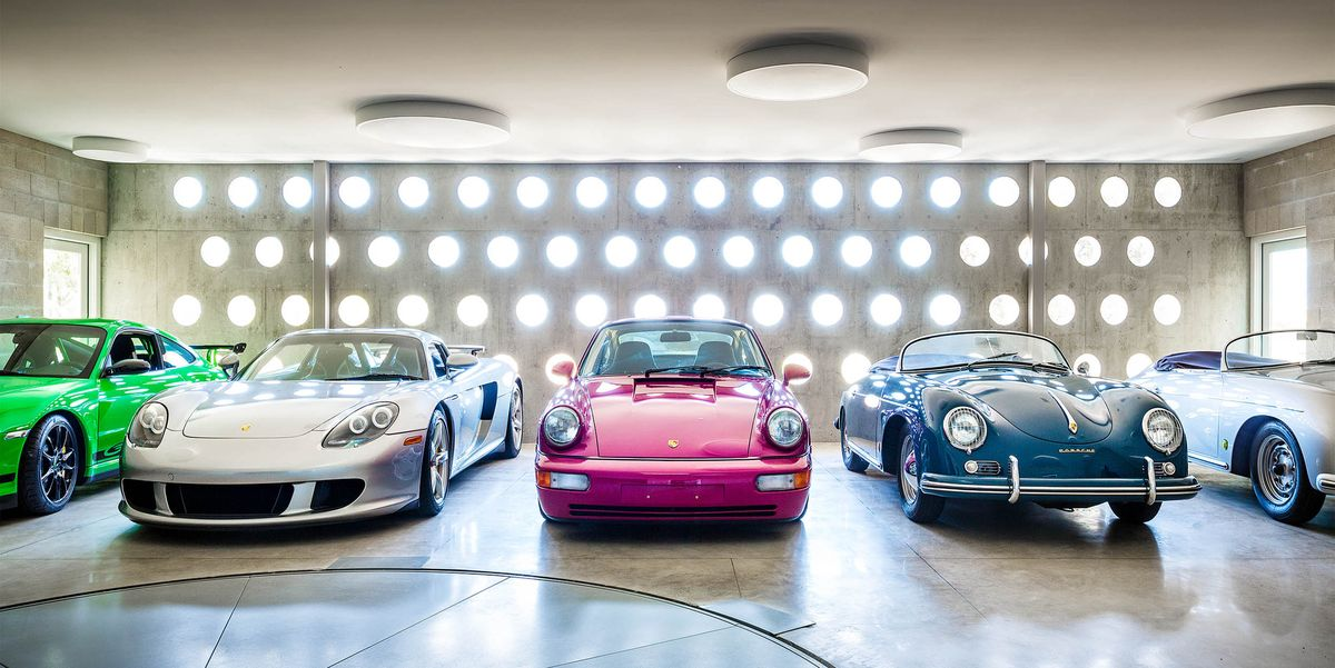 How an Architect Build an Entire House for One Man\'s Porsche Collection