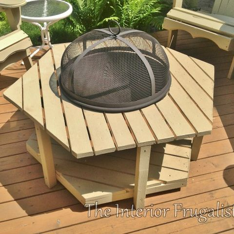 Table, Outdoor table, Coffee table, Furniture, Wood, Backyard, Deck, Wood stain, Barbecue, Outdoor furniture,