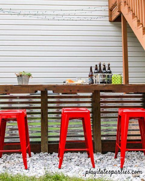12 Best Outdoor Bar Ideas Diy, How To Build An Outdoor Bar Table