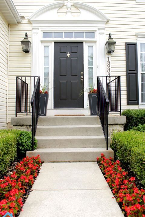 20 Diy Front Step Ideas Creative Ideas For Front Entry Steps