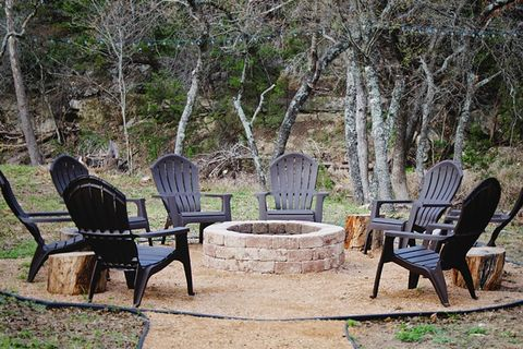 Furniture, Property, Tree, Table, Chair, Patio, Outdoor furniture, Spring, Room, Leisure,