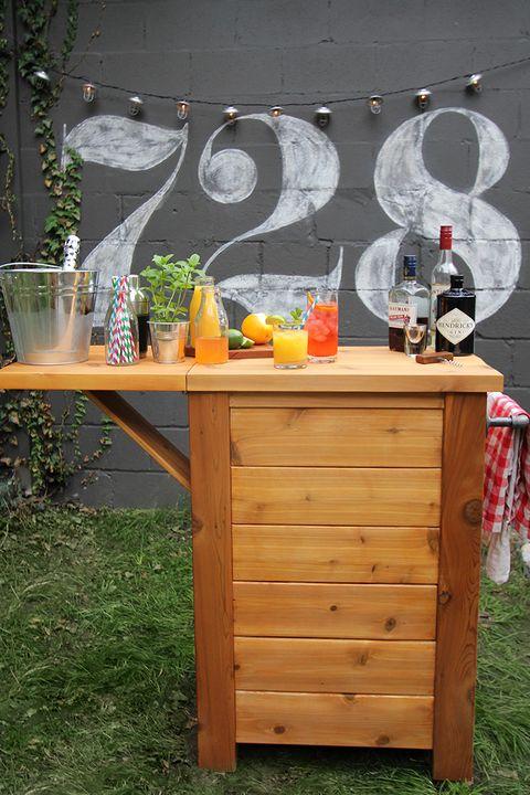 12 Best Outdoor Bar Ideas Diy Outdoor Bars For Entertaining