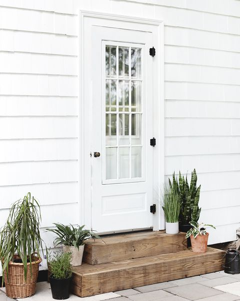 White, Door, Home, Home door, Property, Porch, Window, Wall, Siding, House,