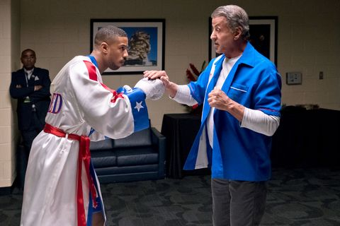 Creed II, Michael B Jordan, Fitness