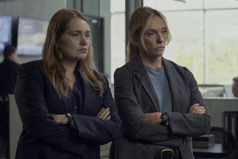 dos detectives de la serie creedme de netflix