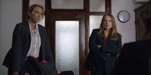 las detectives Grace Rasmussen y KarenDuvall