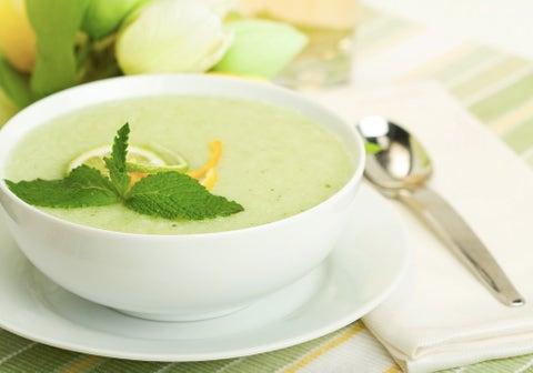 recetas frías para verano crema de melón