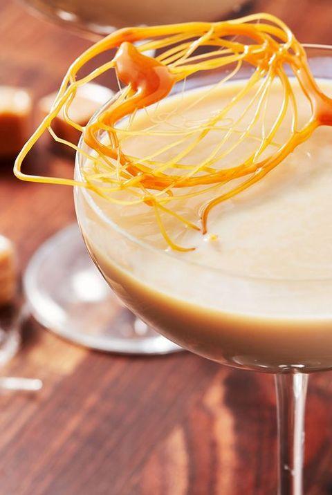 creme brulee martini - christmas martinis