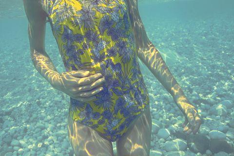 Underwater, Water, Organism, Recreation, Macrocystis, Wetsuit, Seaweed,