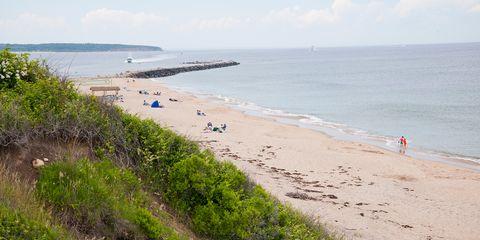 Crescent Beach — Block Island, Rhode Island