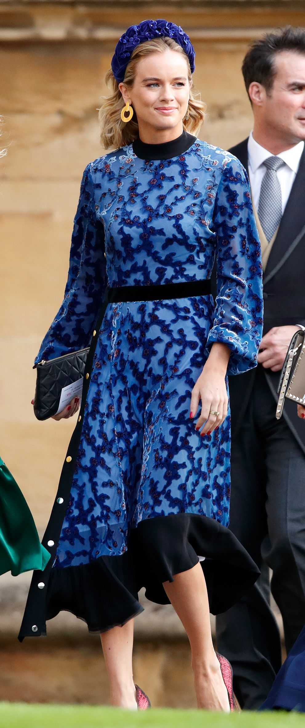 Prince Harry's ex was spotted taking a selfie in the background—but is it really her?!