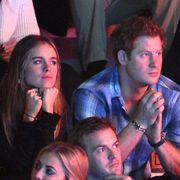 london, england   march 07  cressida bonas and prince harry attend we day uk, a charity event to bring young people together at wembley arena on march 7, 2014 in london, england  photo by karwai tangwireimage