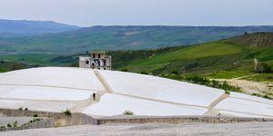 Cretto di Burri, Land Art (Gibellina, Sicily, Italy)