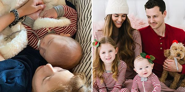 7d32bd771b Joanna Gaines Posted the Cutest Matching Family Christmas Pajamas