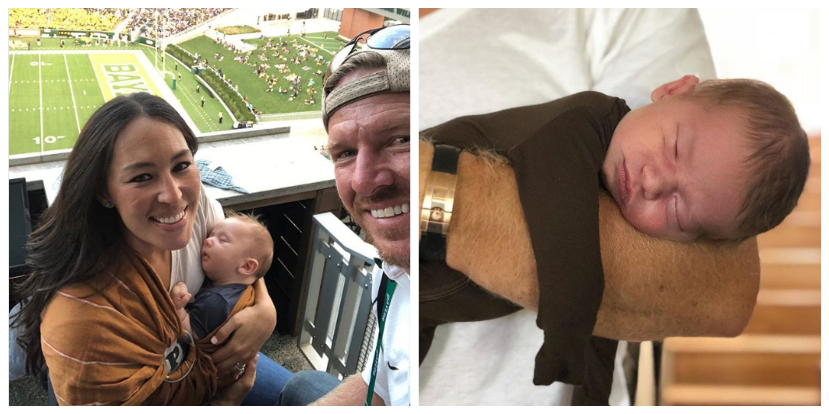 See Pictures Of Chip And Joanna Gaines S New Baby Crew Photos