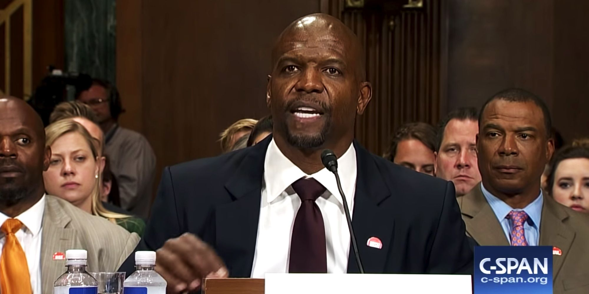 Terry Crews Gave Incredibly Honest Testimony Before the Senate About Sexual Assault