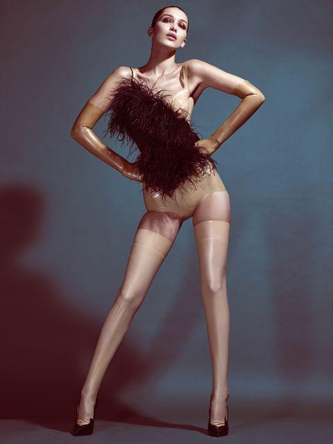 Clothing, Fashion model, Human leg, Beauty, Leg, Model, Shoulder, Fashion, Lip, Photo shoot,