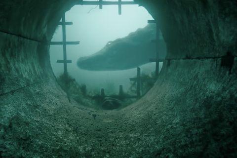 Underwater peliculas de terror marinas