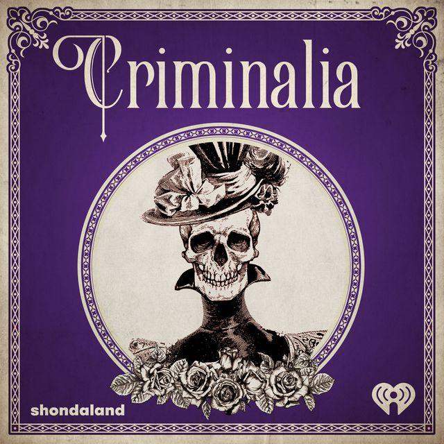 criminalia podcast show logo