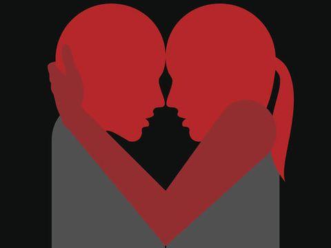 Lip, Red, Heart, Organ, Love, Carmine, Animation, Graphics, Coquelicot, Illustration,