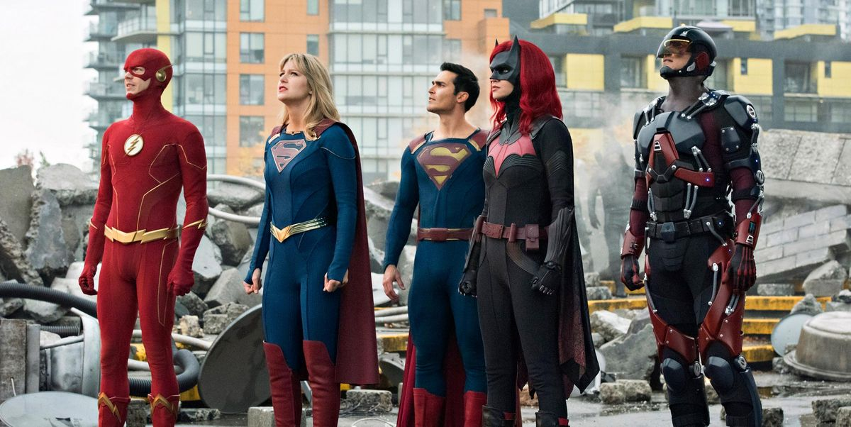 Arrowverse's Crisis on Infinite Earths crossover is now available to buy on DVD