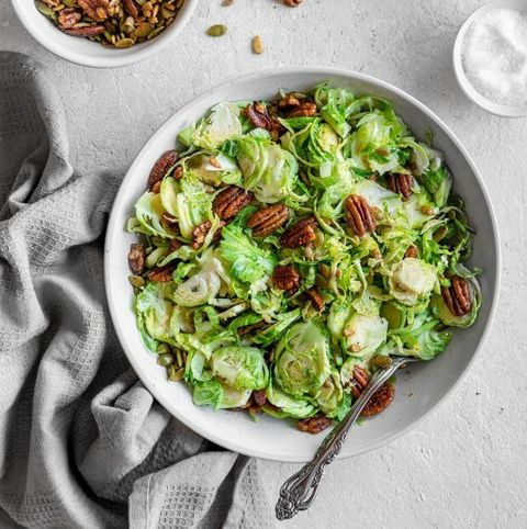 keto brussels sprouts salad