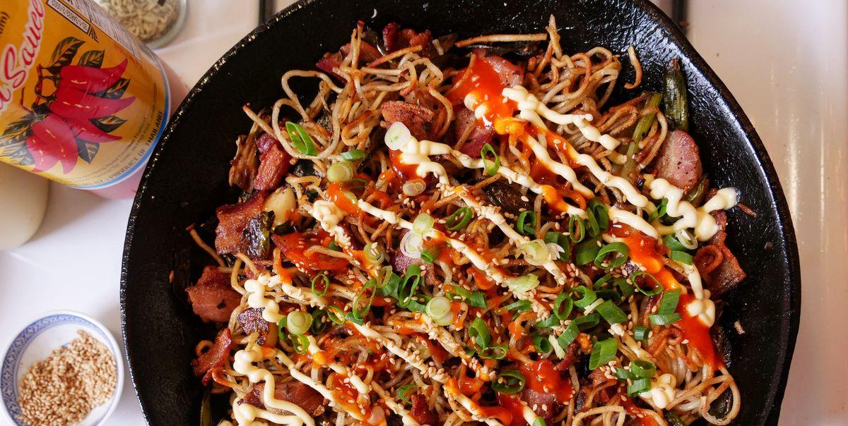 Crispy Pan Noodles