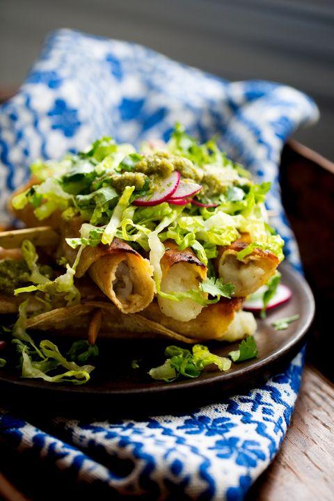 tacos croustillants aux pommes de terre