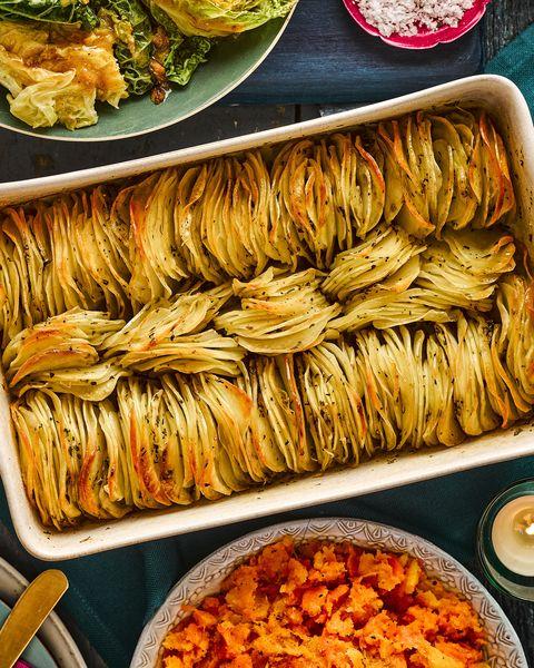 best potato recipes crispy stacked potatoes