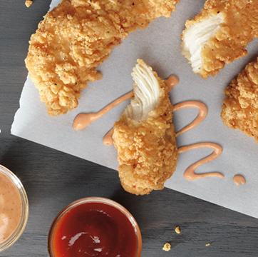 Food, Dish, Cuisine, Ingredient, Fried food, Fast food, Crispy fried chicken, Chicken nugget, Comfort food, Dip,