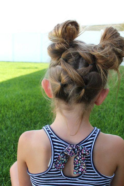 criss cross braid buns easy kids hairstyles