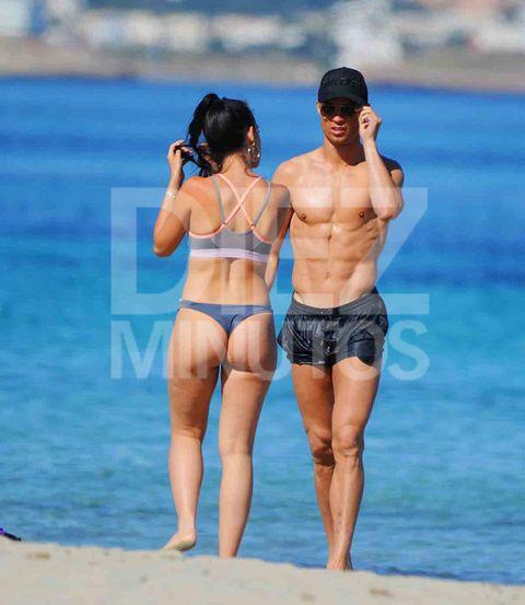 Ronaldo y Georgina en Ibiza