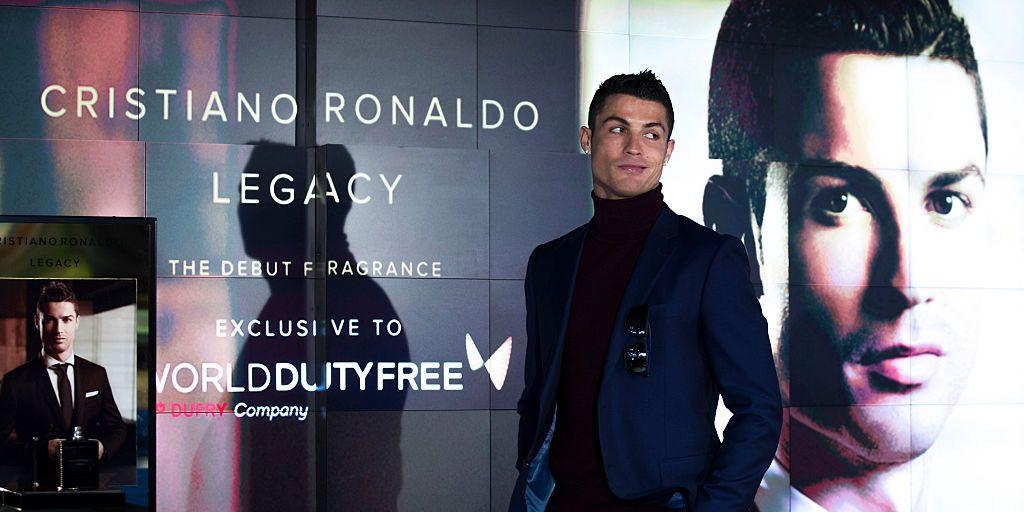 Cristiano Ronaldo presenta su fragancia