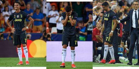 CristianoRonaldo llorando